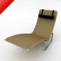 pk24 day bed chair materials 3d model