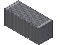 20FT ISO Shipping Container