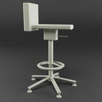 360º stool 3ds