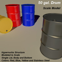 Oil Barrel - 50 Gallon Drum