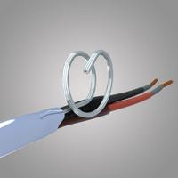 cu mica cable 3d model