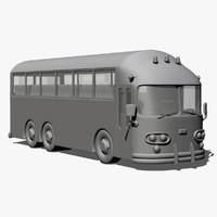 bus 3d max
