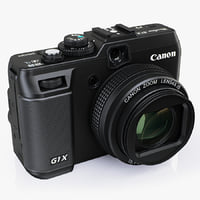 3ds max digital camera canon powershot