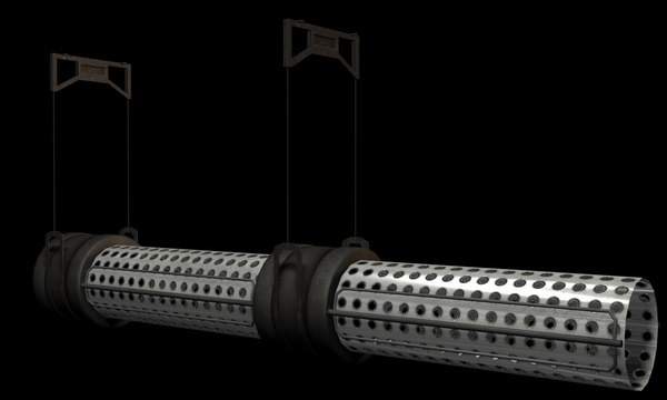 3d model chrome pipes - CP_Chrome_Pipe_All... by stubs3d