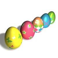 Easter Eggs (5 types)