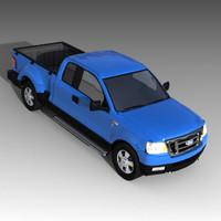trucks f-150 3d model