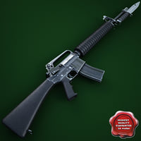 3ds m16a2 assault rifle m9