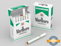 maya marlboro menthol cigarette box