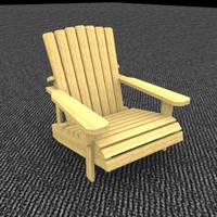 Pelican Adirondack Chair