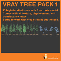 maya tree pack