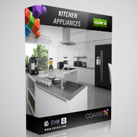 CGAxis Models Volume 10 Kitchen Appliances
