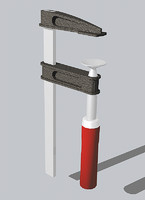 3d carpenter clamp