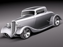 ford 5w coupe 3D models
