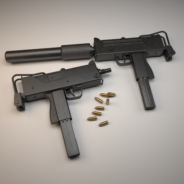 Handgun Machine Pistol Tags Mac 10 Submachine Gun Weapon ...