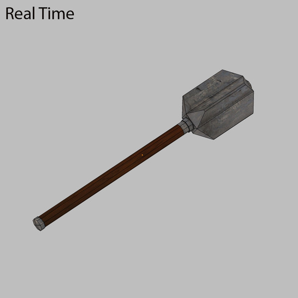 3ds max medieval mace