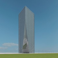 new skyscraper 79 3d model