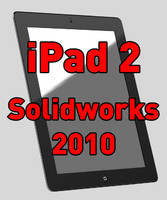 3d model solidworks ipad 2