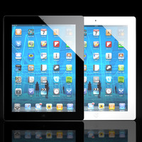 3d model ipad wi-fi 3g