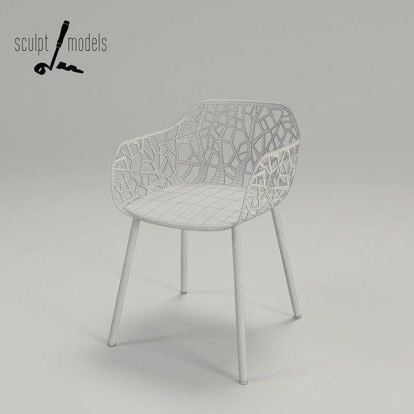 3ds max breeze chair - Breeze Chair... by SculptModels