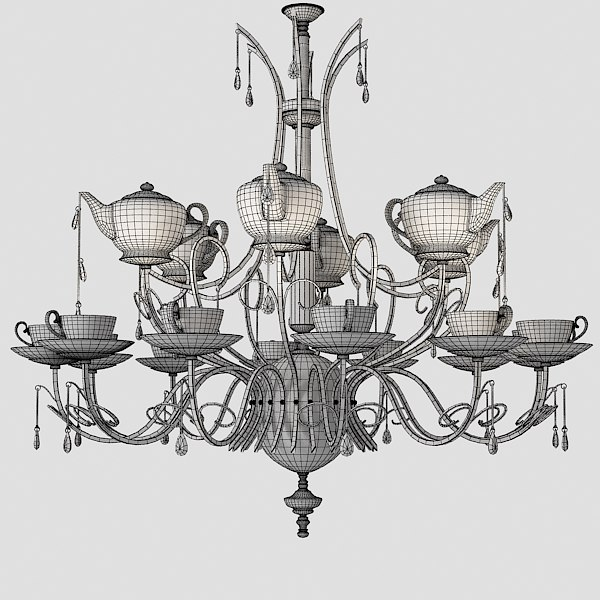 Alfa img - Showing > Teapot Chandelier