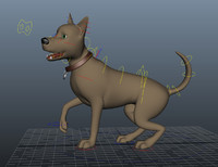 Dog model - rigging