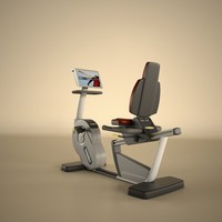 3d model of technogym ergometer