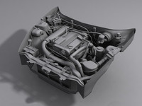 Car engine (no textures)