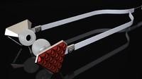 3d lady gaga headphones model