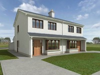 3d max single house render