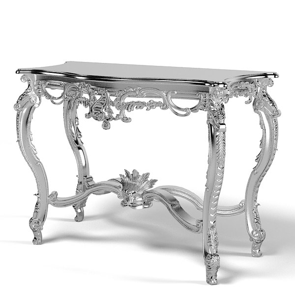 of interni MM 9402 baroque console table glamour silver classic carved carving.jpg