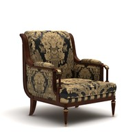 Armchair in halls and classical apartments CH3