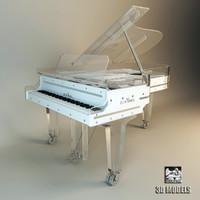 piano schimmel 3d model