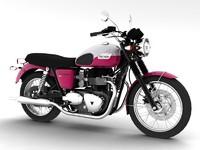 3d triumph bonneville t100 2012