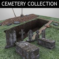 3d model cemetery vol 1