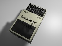 cinema4d pedal boss equalizer ge-7