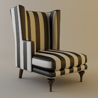 chair details armchair 3d 3ds