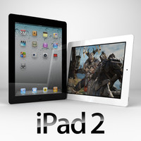 apple ipad 2 3d model