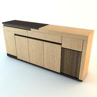 Contemporary Credenza Cabinet