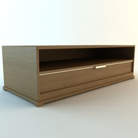 tv stand 3ds
