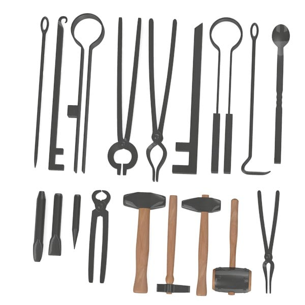 Blacksmith Tools And Equipment Blacksmith Tools Obj