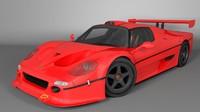 ferrari f50 3D models