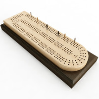 maya cribbage card board