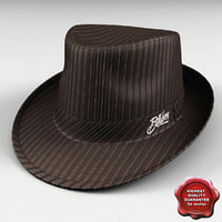 3d condition fedora hat billabong