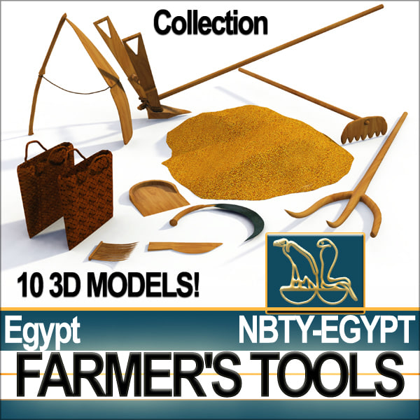 Ancient Roman Farming Tools Ancient egyptian farmer s 3ds