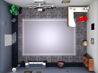 3d office -