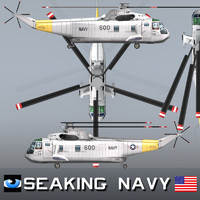 sikorsky sh-3 sea king 3d 3ds