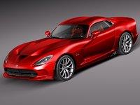 3ds max dodge viper gts 2013