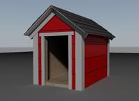 3dsmax dog house