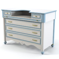 Ferretti & Ferretti happy night childern sideboard chest of drawers commode kid