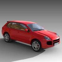 porsche cayenne luxury s 3d model